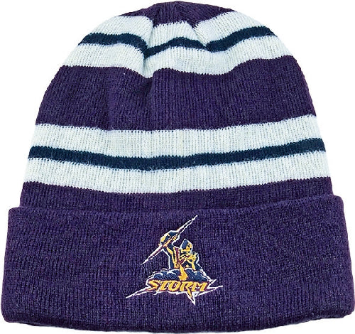 Melbourne Storm Beanie - Striped