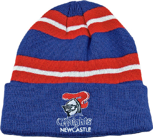 Newcastle Knights Beanie - Striped