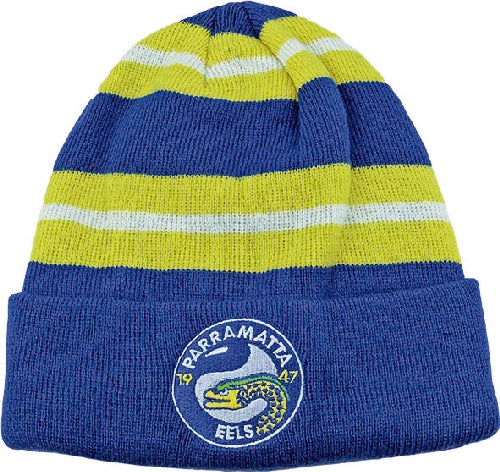 Parramatta Eels Beanie - Striped