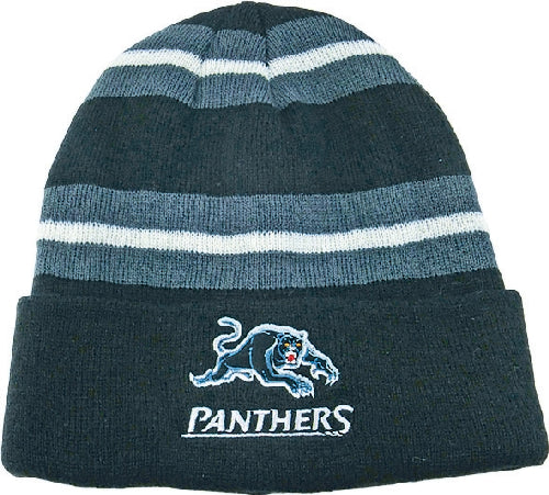 Penrith Panthers Beanie - Striped
