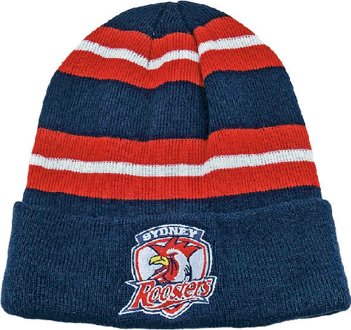 Sydney Roosters Beanie - Striped