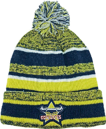 North Queensland Cowboys Beanie - Pom Pom
