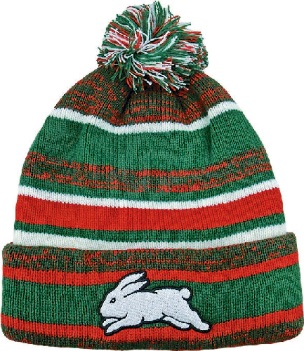 South Sydney Rabbitohs Beanie - Pom Pom