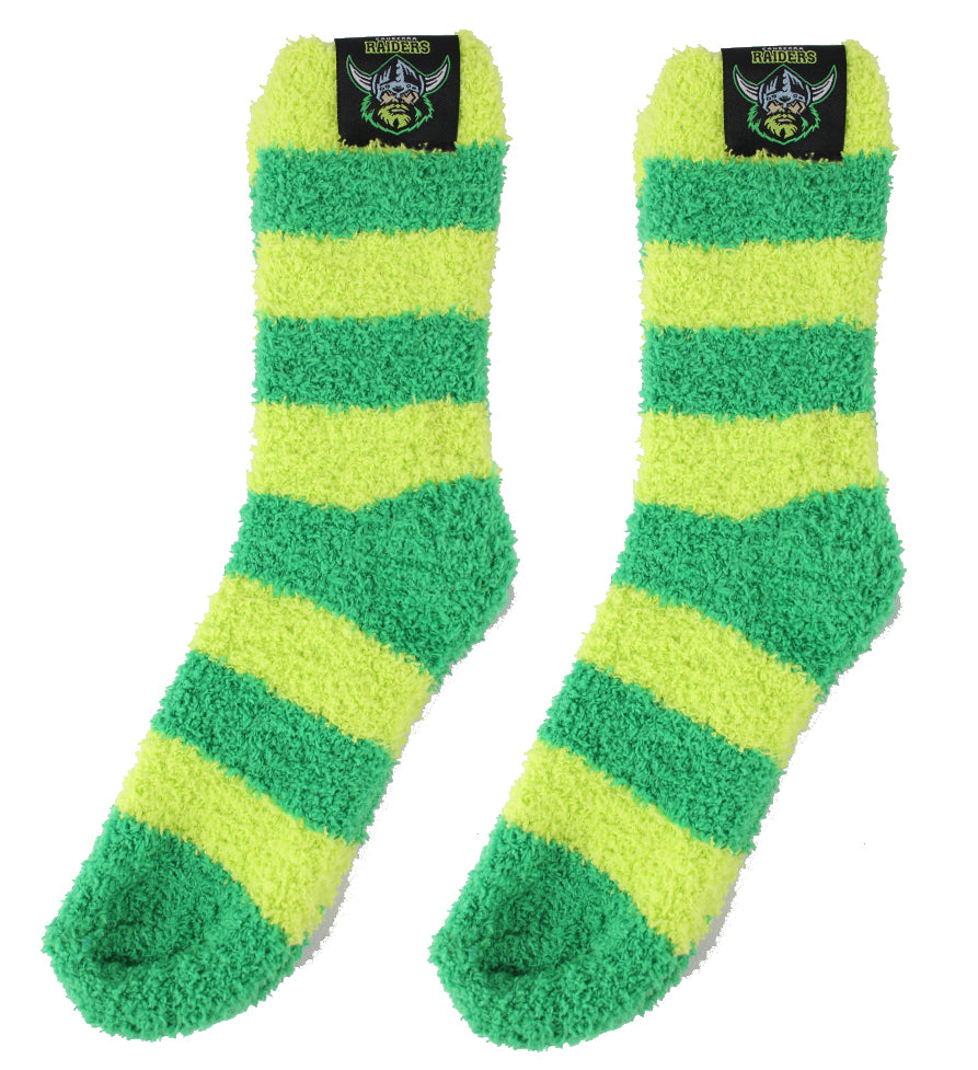 Canberra Raiders Bed Socks