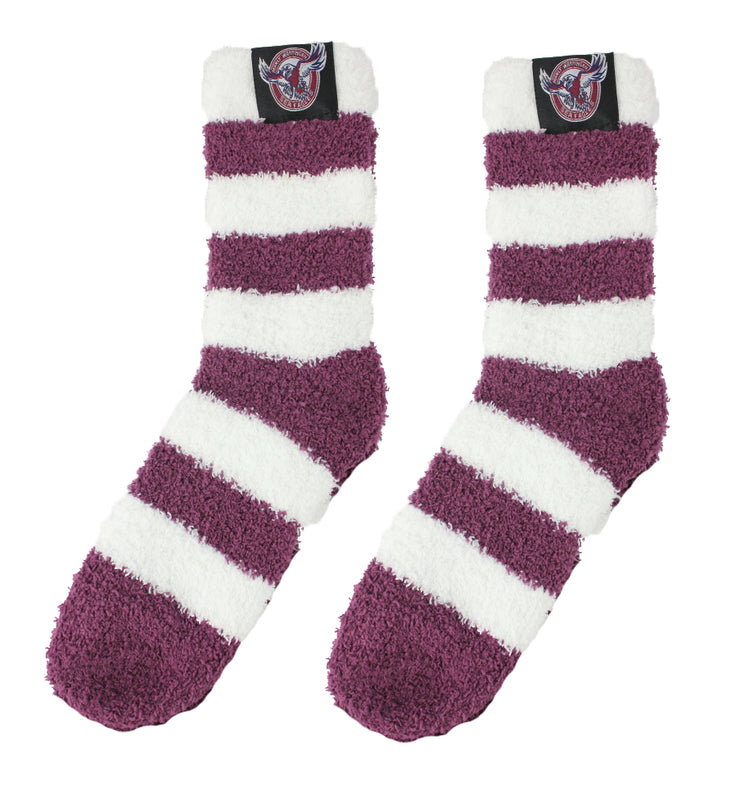 Manly Sea Eagles Bed Socks