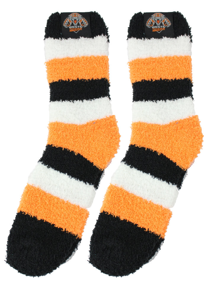 Wests Tigers Bed Socks