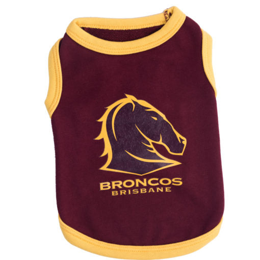 Brisbane Broncos Dog Shirt