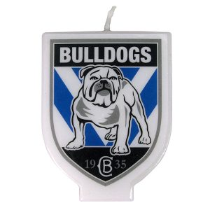 Canterbury Bulldogs Logo Candle