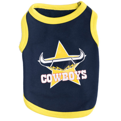 North Queensland Cowboys Dog Shirt