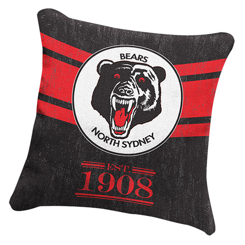 North Sydney Bears Cushion - Heritage