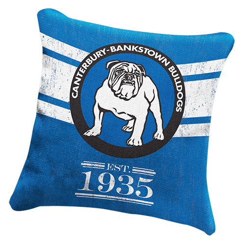 Canterbury Bulldogs Cushion - Heritage