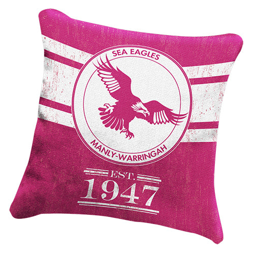 Manly Sea Eagles Cushion - Heritage