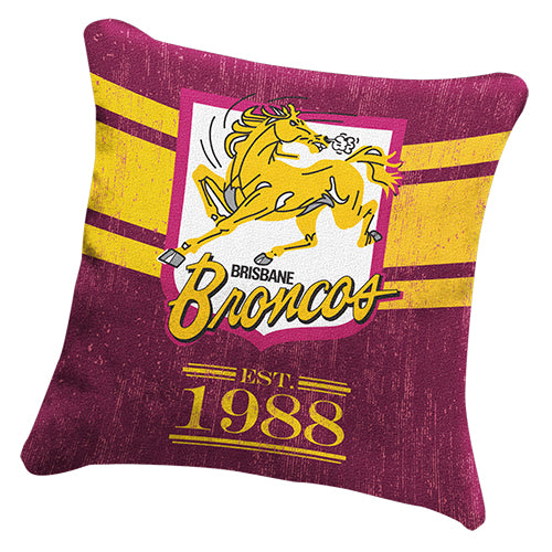 Brisbane Broncos Cushion - Heritage