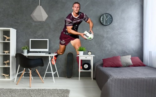 Daly Cherry-Evans Manly Sea Eagles Wall Sticker