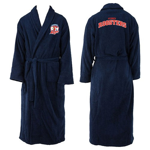 Sydney Roosters Adults Dressing Gown