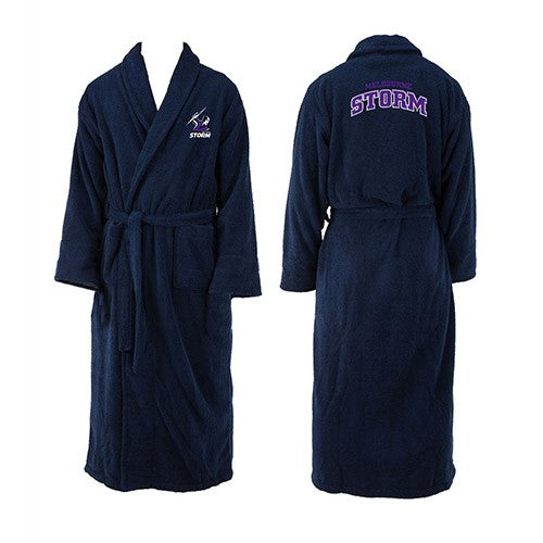 Melbourne Storm Adults Dressing Gown