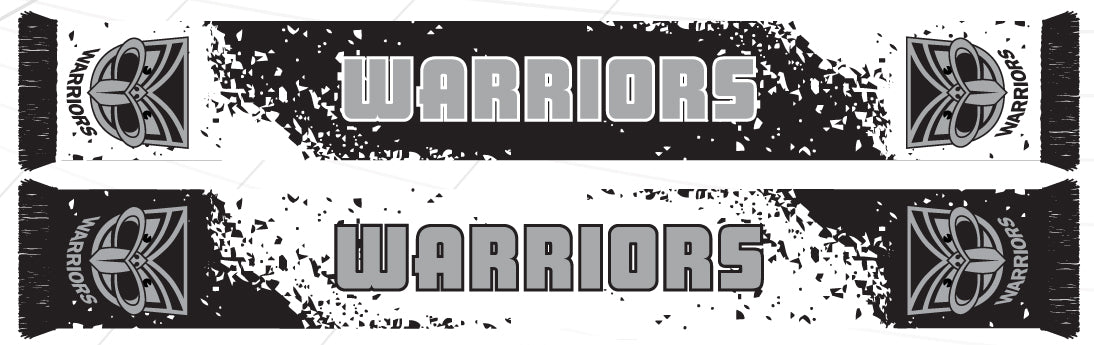 NZ Warriors Scarf - Splash
