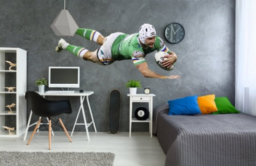 Jarrod Croker Canberra Raiders Wall Sticker