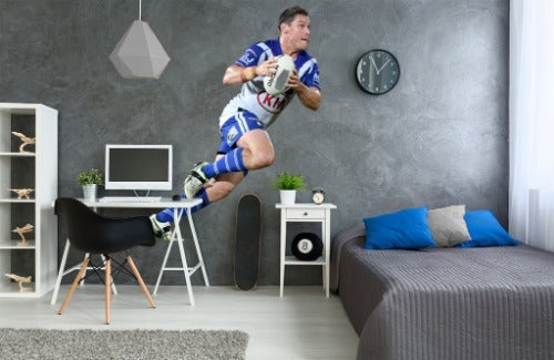 Josh Jackson Canterbury Bulldogs Wall Sticker