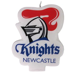 Newcastle Knights Logo Candle