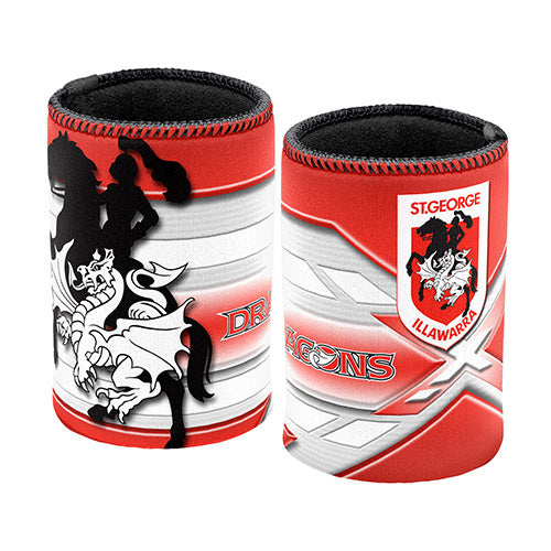St George Illawarra Dragons Stubby Cooler - Logo
