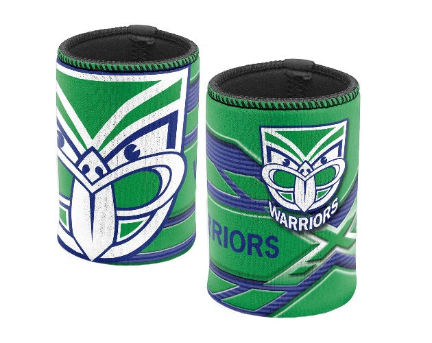 NZ Warriors Stubby Cooler - Logo