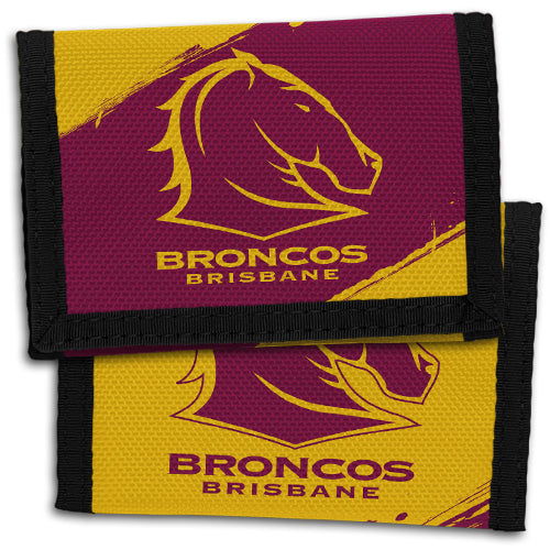 Brisbane Broncos Sports Wallet