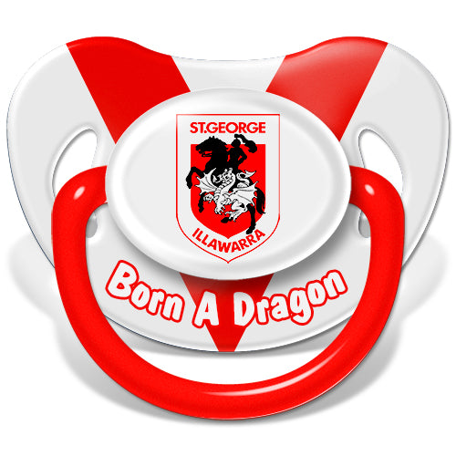 St George Illawarra Dragons Baby Dummy