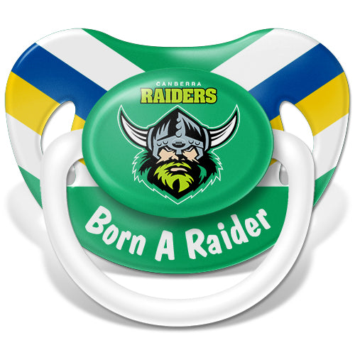 Canberra Raiders Baby Dummy