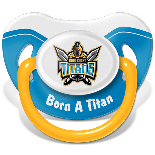 Gold Coast Titans Baby Dummy