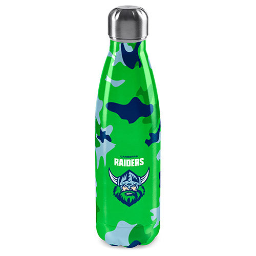 Canberra Raiders S/Steel Drink Bottle