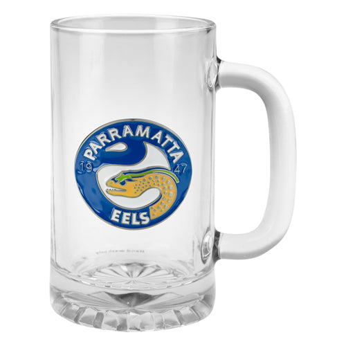 Parramatta Eels Metal Badged Stein