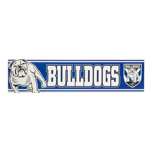 Canterbury Bulldogs Car Bumper Sticker
