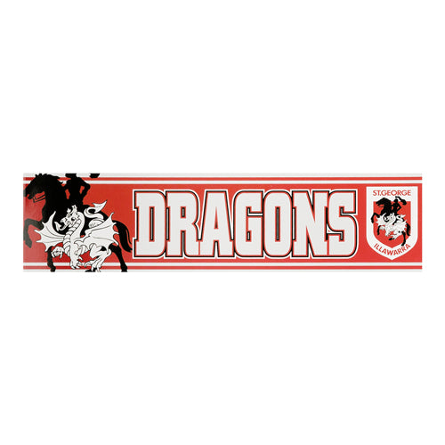 St George Illawarra Dragons Car Bumper Sticker