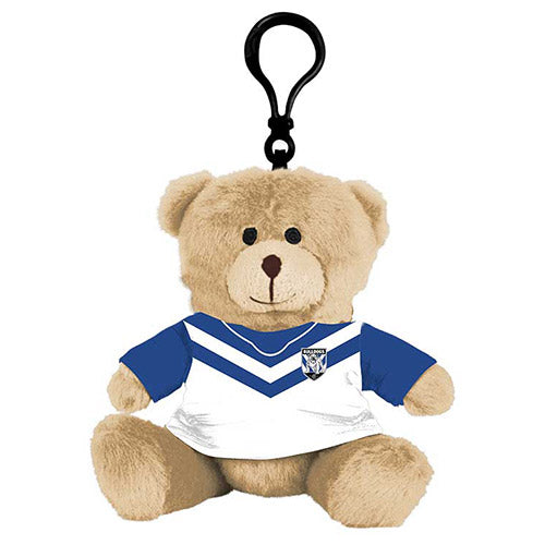 Canterbury Bulldogs Teddy Bear Bag Tag