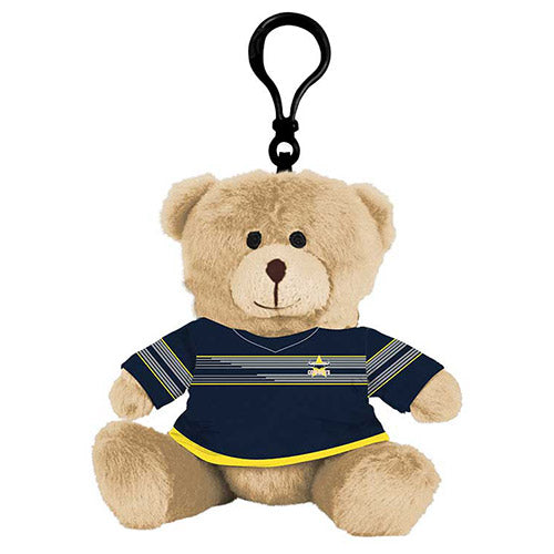 North Queensland Cowboys Plush Teddy Bear Bag Tag