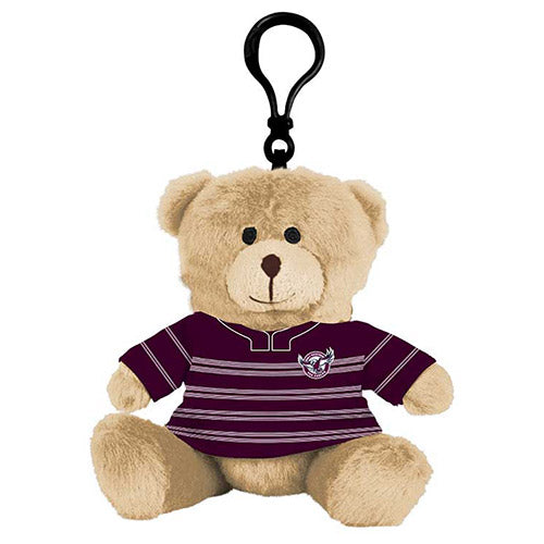 Manly Sea Eagles Teddy Bear Bag Tag