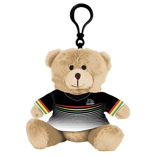 Penrith Panthers Teddy Bear Bag Tag