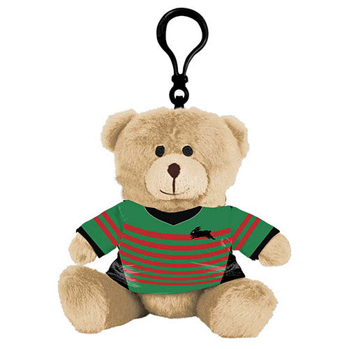 South Sydney Rabbitohs Teddy Bear Bag Tag