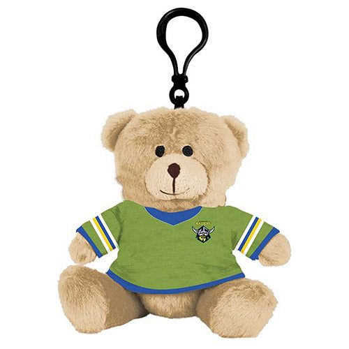 Canberra Raiders Teddy Bear Bag Tag