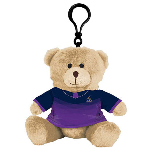 Melbourne Storm Teddy Bear Bag Tag