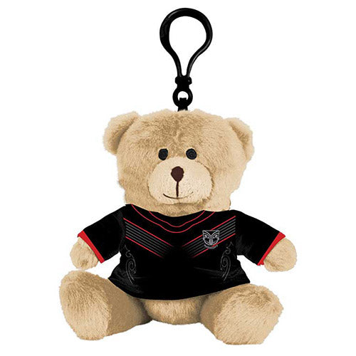 NZ Warriors Teddy Bear Bag Tag