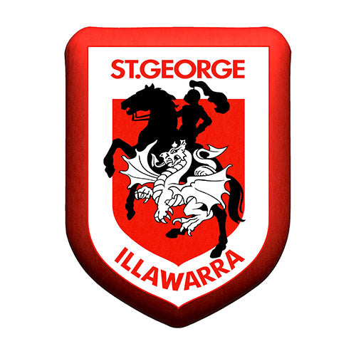 St George Illawarra Dragons Cushion - Logo