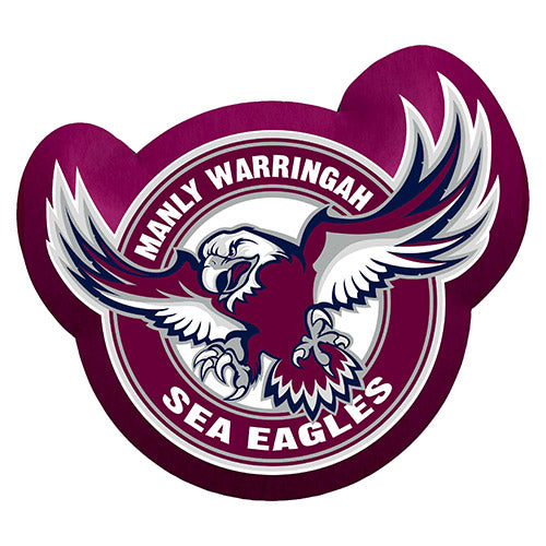 Manly Sea Eagles Cushion - Logo