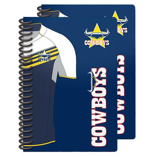 Cowboys Notebook 2pk