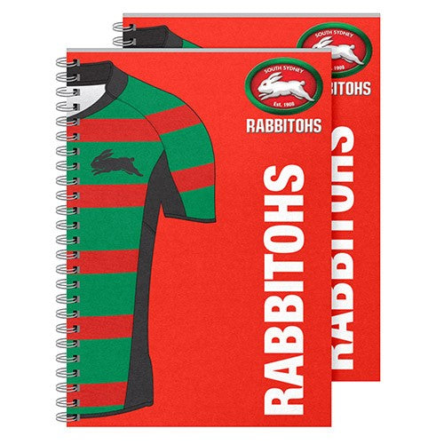 South Sydney Rabbitohs Notebook (2pk)
