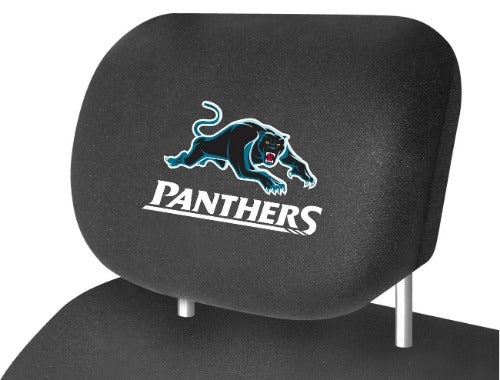 Penrith Panthers Car Headrest Covers