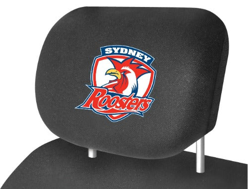 Sydney Roosters Car Headrest Covers