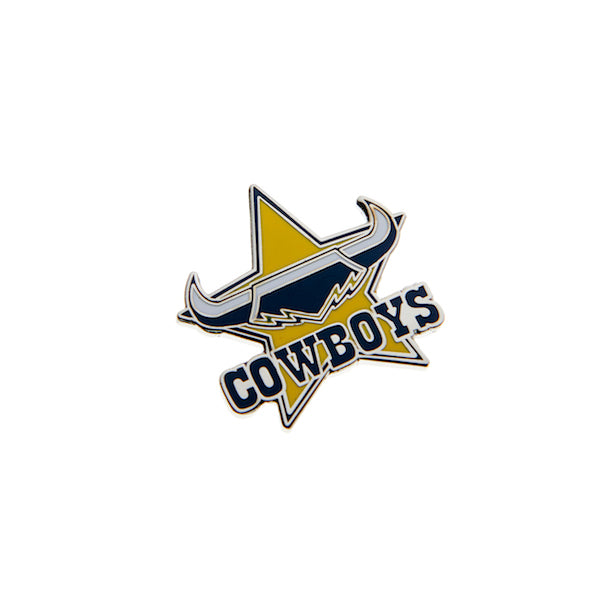North Queensland Cowboys Pin - Metal Logo