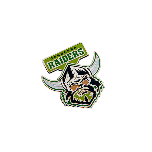 Canberra Raiders Pin - Metal Logo